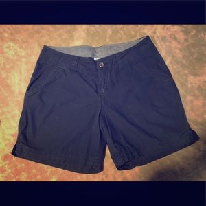 Navy Blue Columbia shorts